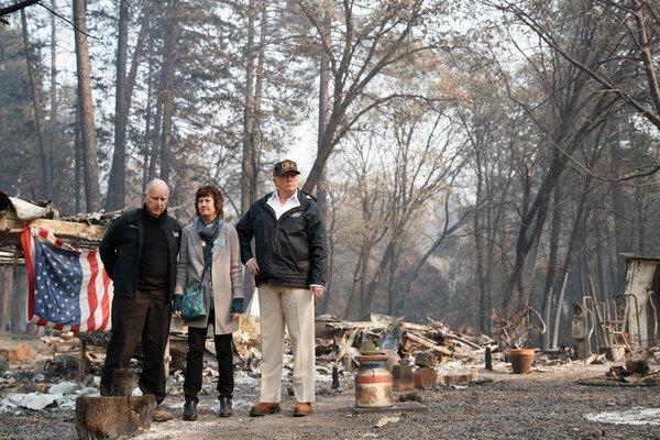 Brown, Jones, and Trump survey the damage.