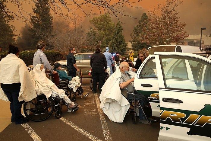 Feather River Hospital evacuation.