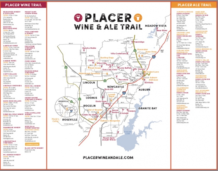 Placer Wine & Ale Trail.