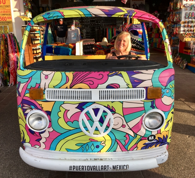 Muffie loves this VW van.