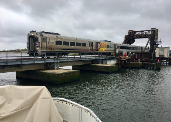 Amtrak commuter train.