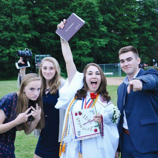 Abigail's graduation.